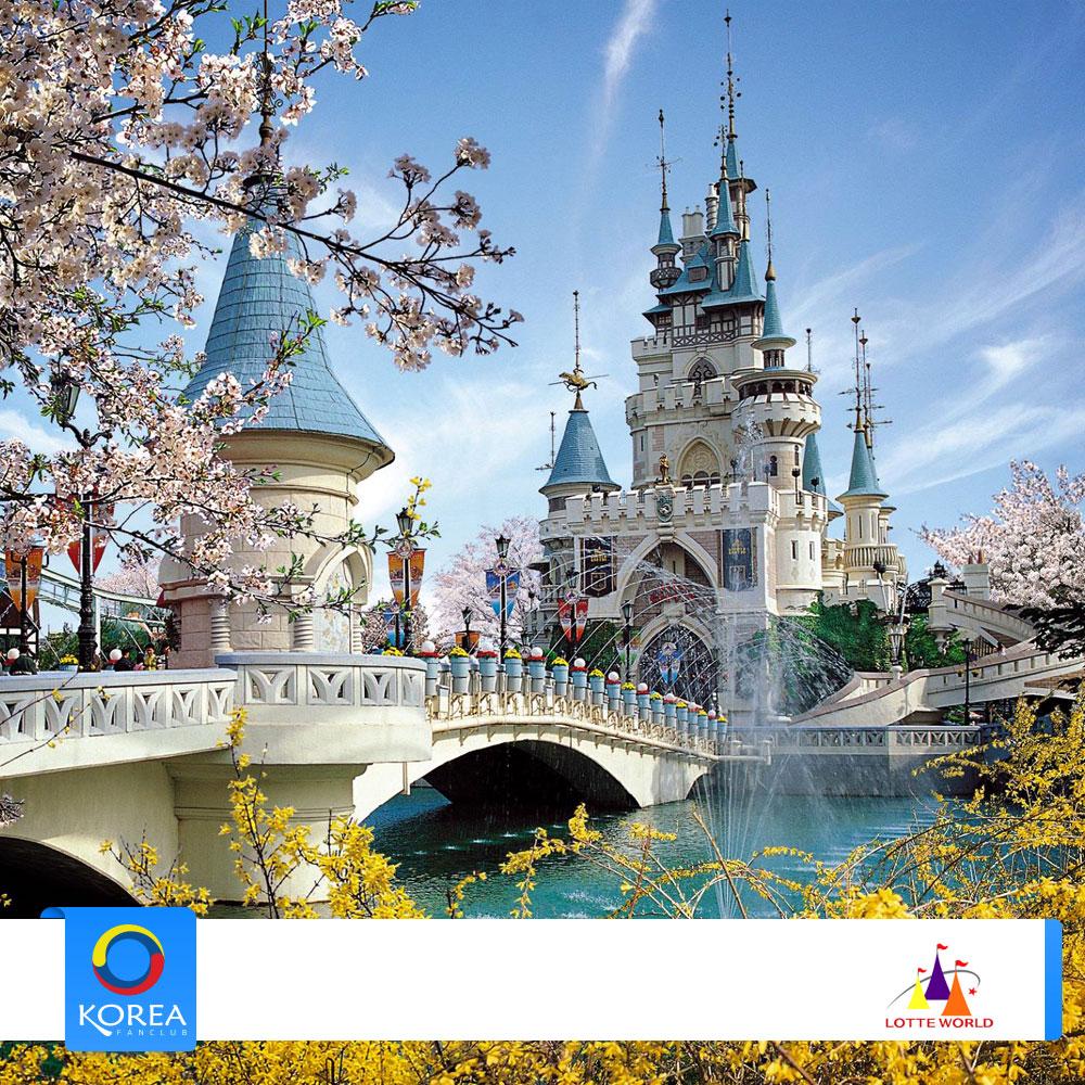 บัตรสวนสนุก Lotte World บัตรผู้ใหญ
