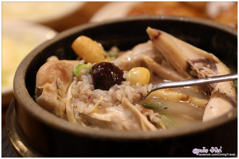 ไก่ตุ๋นโสมเกาหลี ไก่ย่าง Tosokchon Samgyetang กรุงโซล เกาหลีใต้
