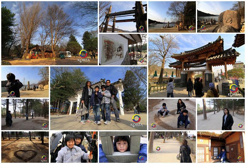 เกาะนามิ หนึ่งในสถานที่ถ่ายทำละครเกาหลี เรื่อง WINTER LOVE SONG