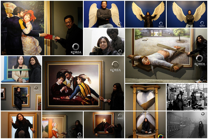 Trick Eye Museum (Seoul) พิพิธภัณฑ์ศิลปะสามมิติ (ฉบับเที่ยวด้วยตัวเอง)