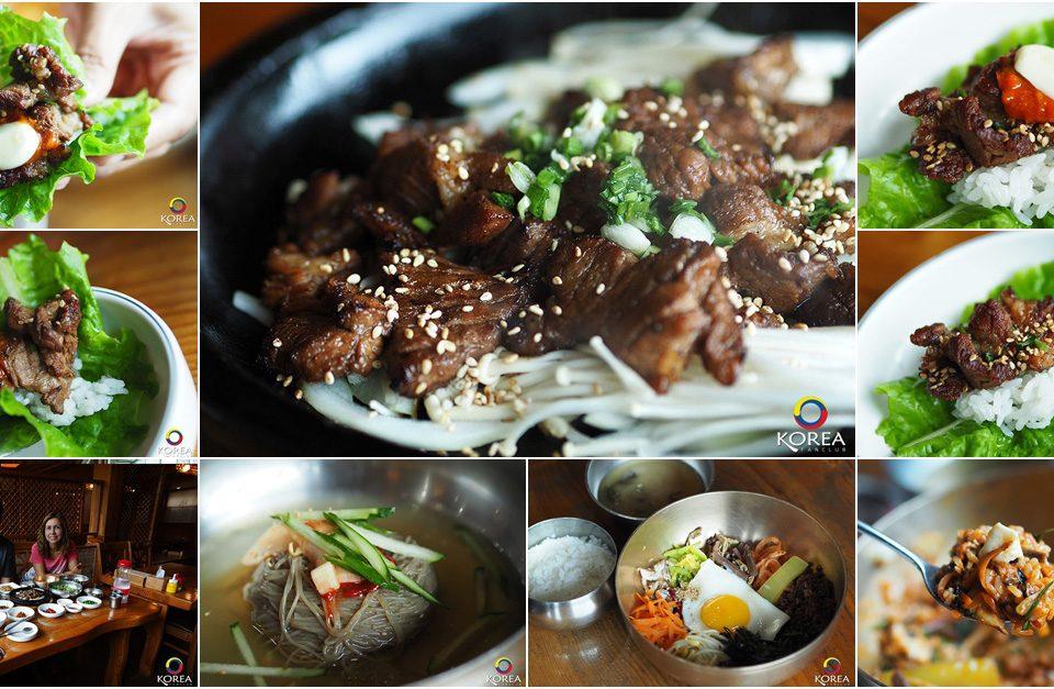 Gyodong Seok galbi เนื้อวัวกระทะร้อน แห่งจอนจู
