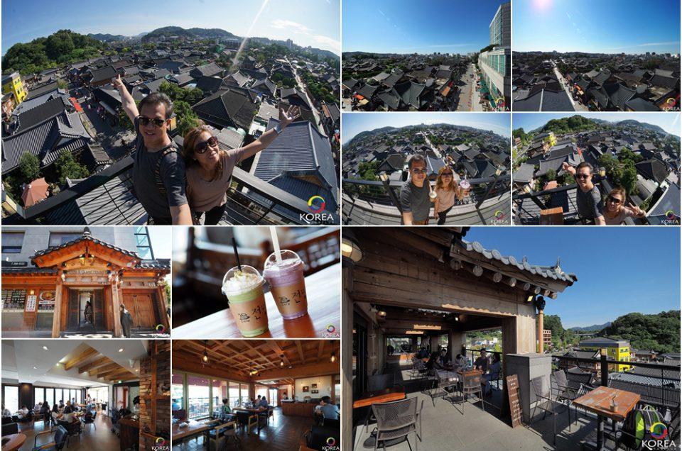 Jeonmang Cafe ร้านกาแฟที่วิวสวยที่สุดใน เมืองจอนจู