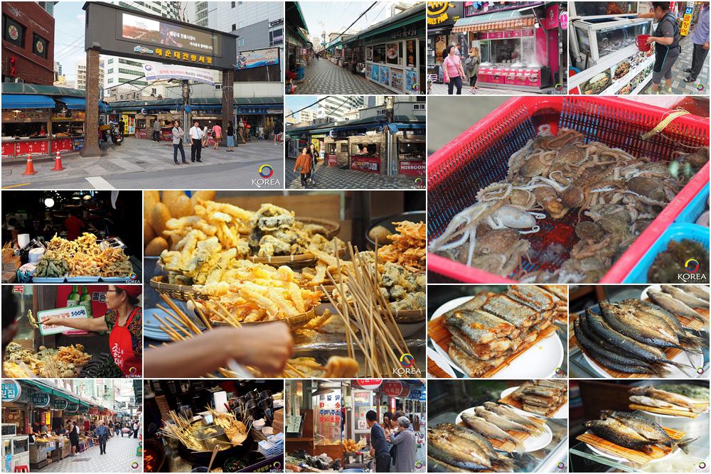 ตลาด Haeundae Traditional Market