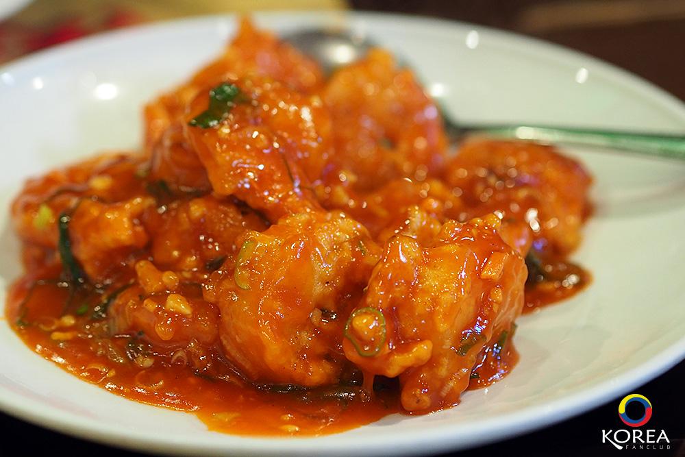 Mandabok Braised Prawn in Chili Sauce