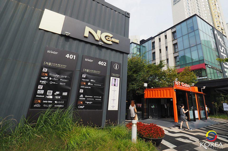 NC Cube Canal Walk แหล่งรวมสินค้าแฟชั้นลดราคา