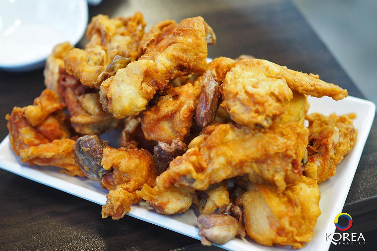 ไก่ทอดเกาหลี