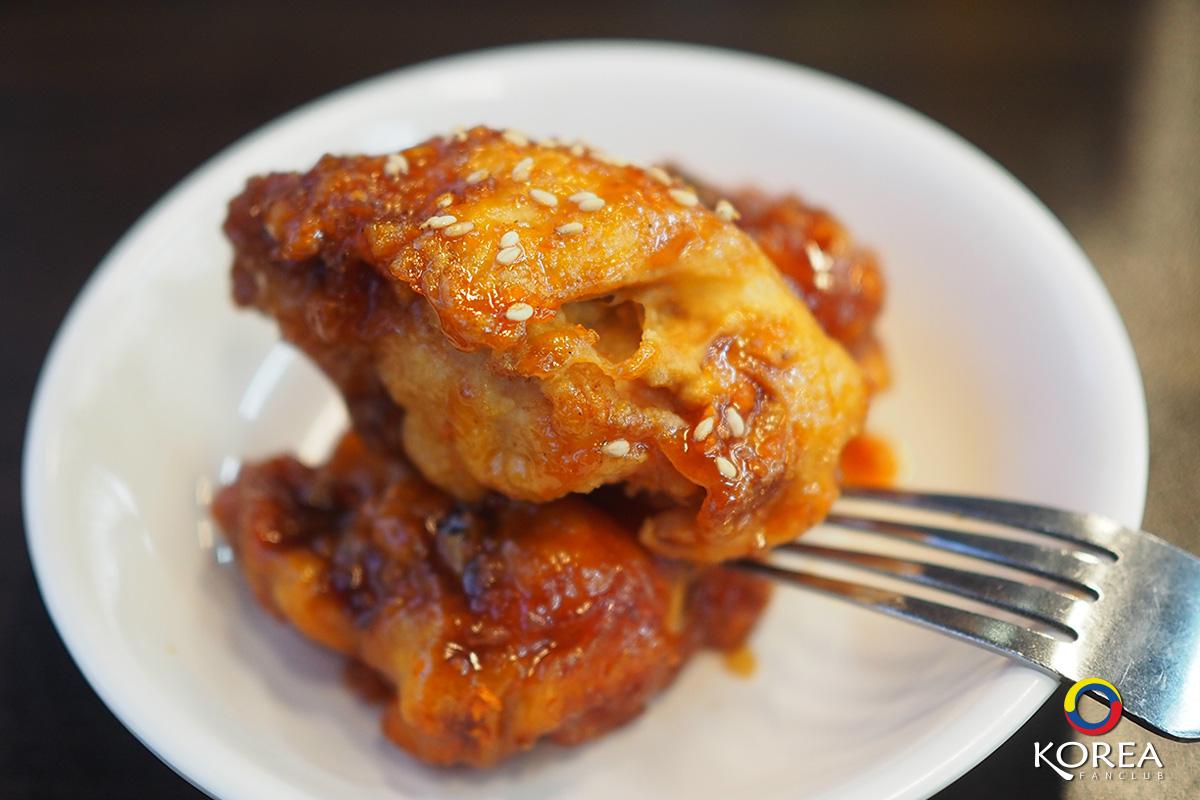 ไก่ทอด สไตล์ เกาหลี