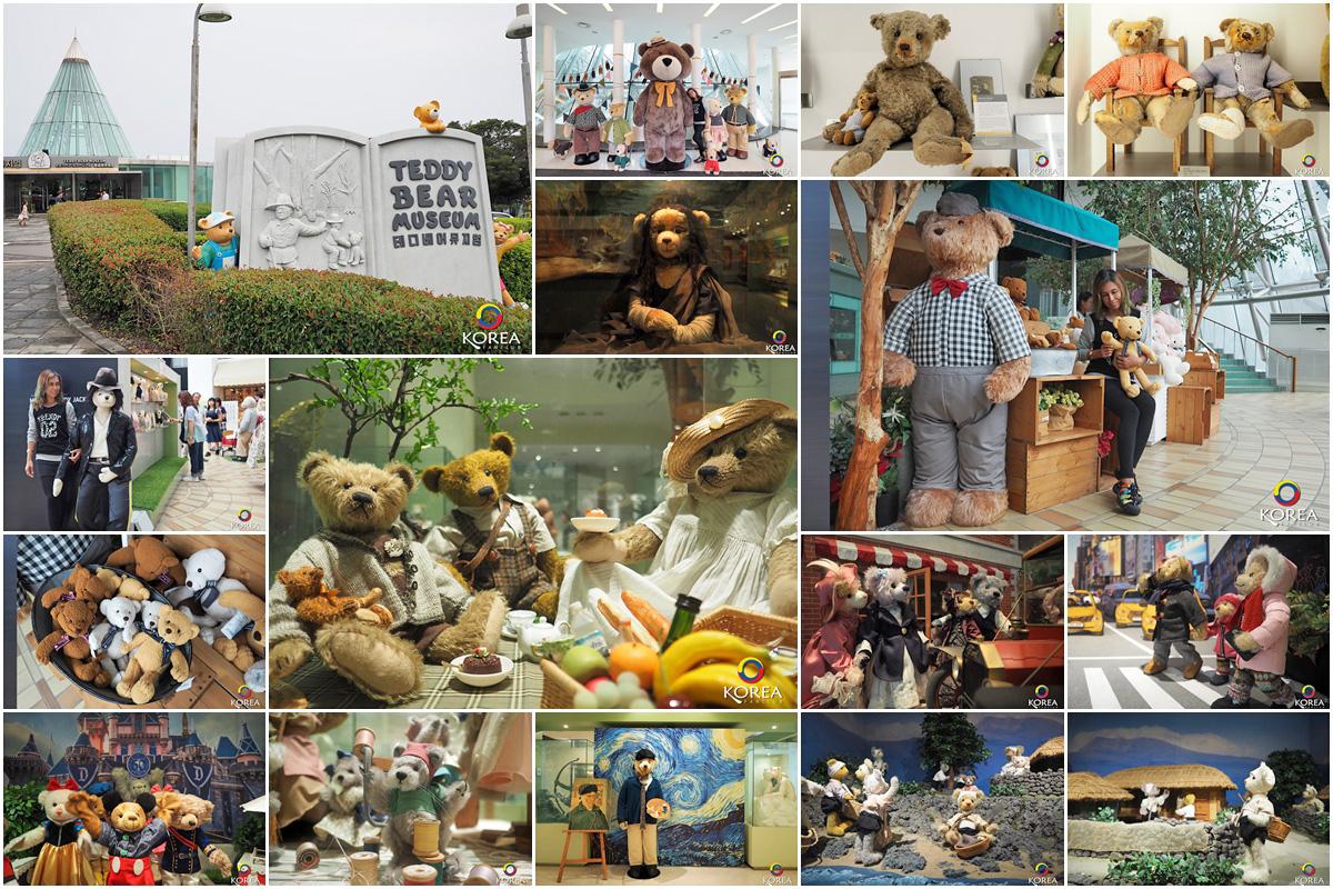 เท็ดดี้แบร์Teddy Bear Museum เกาะเชจู