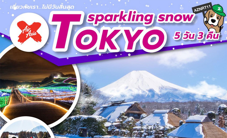 ทัวร์ญี่ปุ่น Tokyo Sparkling Snow (เที่ยวทุกวันไม่มีอิสระ) (ม.ค.-มี.ค.62)