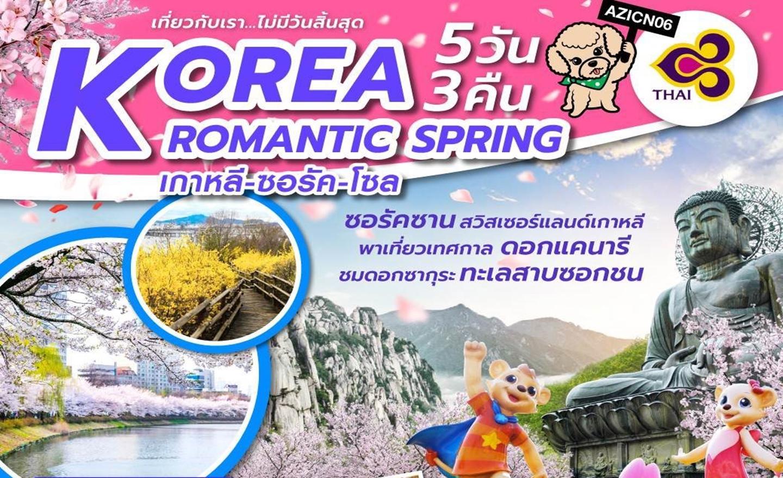 ทัวร์เกาหลี Korea Romantic Spring (เม.ย.62)