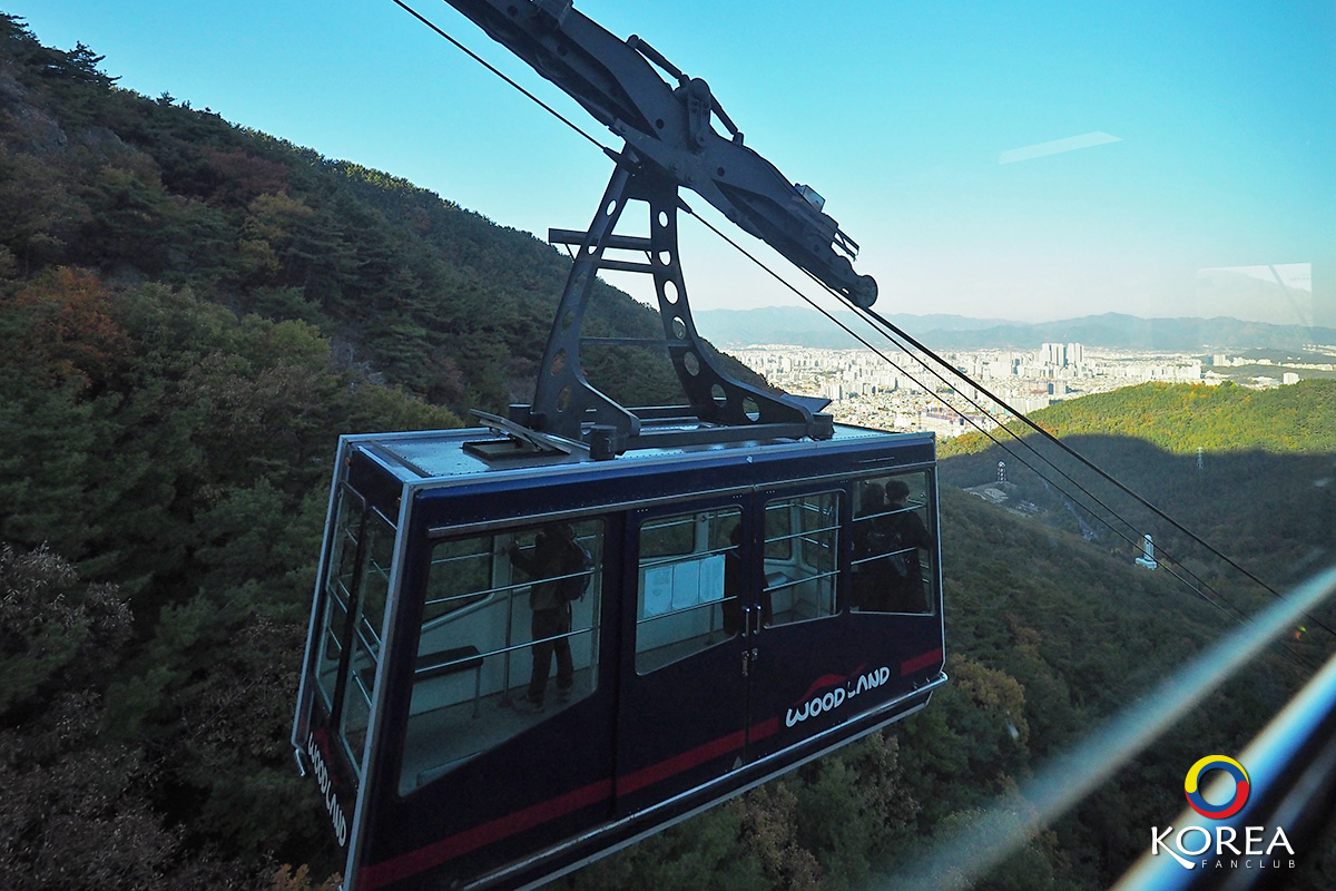 Apsan cable car