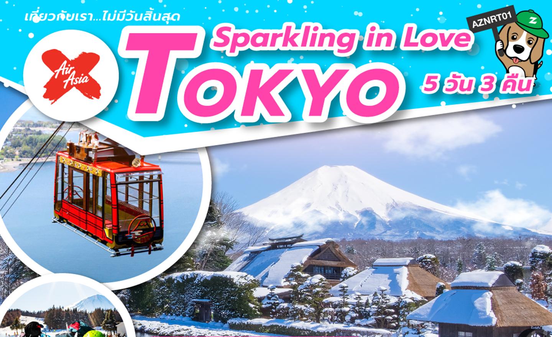 ทัวร์ญี่ปุ่น Sparkling inlove Tokyo (ก.พ.-มี.ค.62)