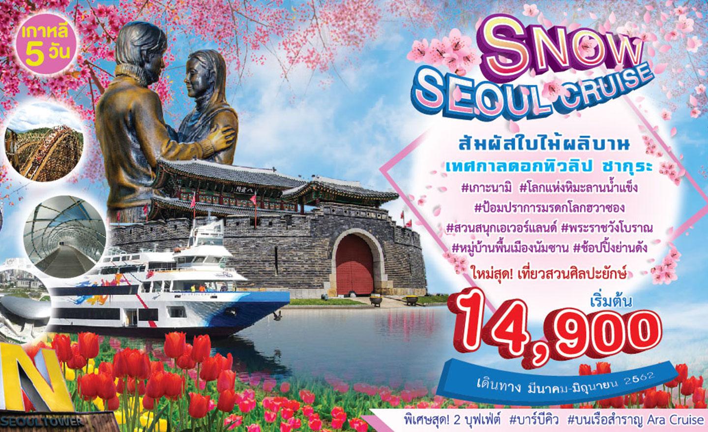ทัวร์เกาหลี Snow Seoul Cruise (มี.ค.-มิ.ย.)