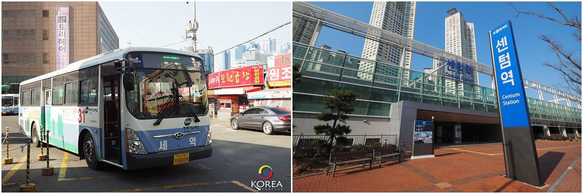 การเดินทาง ปูซาน เคียงจู