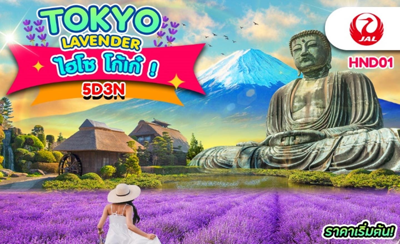 ทัวร์ญี่ปุ่น Tokyo Lavender ไฮโซ โก้เก๋ (ก.ค.-ก.ย.62)