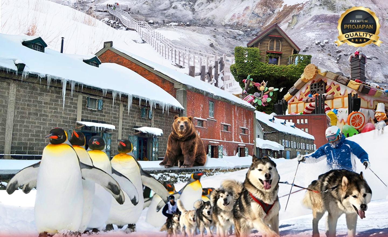 ทัวร์ญี่ปุ่น Pro Special Hokkaido Winter 7D5N (เที่ยวทุกวันไม่มีอิสระ)(6-12ธ.ค.62)