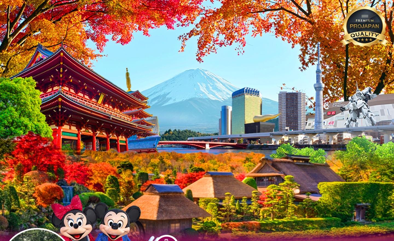 ทัวร์ญี่ปุ่น Pro Tokyo Disney Autumn 5D3N(ต.ค.-พ.ย.62)