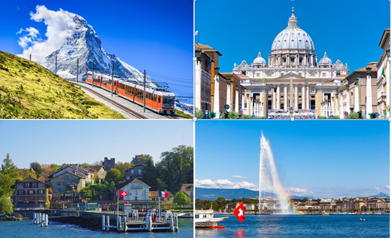 ทัวร์สวิสเซอร์แลนด์ – ฝรั่งเศส – อิตาลี 7 วัน (ต.ค.62)