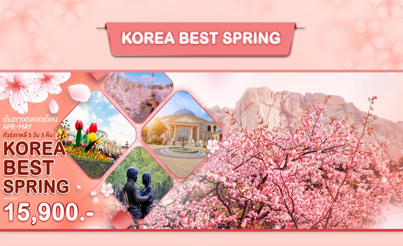 ทัวร์เกาหลี Korea Best Spring (เม.ย.-พ.ค.63)