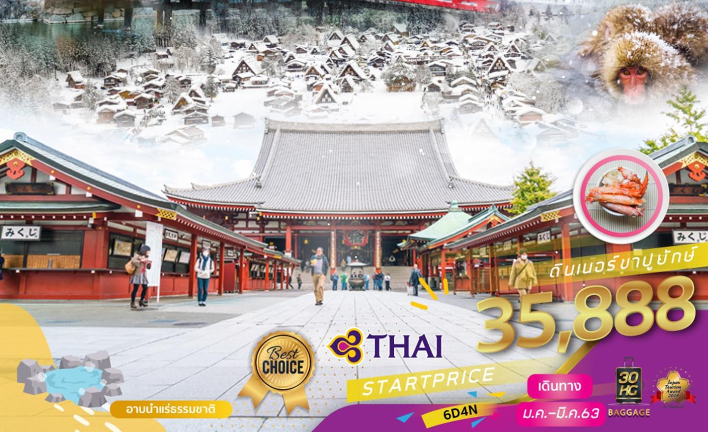 ทัวร์ญี่ปุ่น Tokyo Fuji Matsumoto Osaka Premium Winter 6D4N (ม.ค.-มี.ค.63)