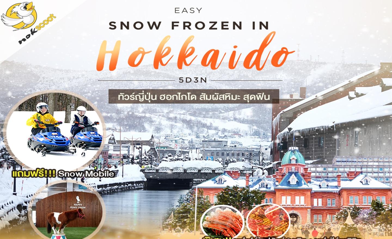 ทัวร์ญี่ปุ่น Easy Snow Frozen In Hokkaido 5D3N มีฟรีเดย์ (ม.ค.-มี.ค.63)