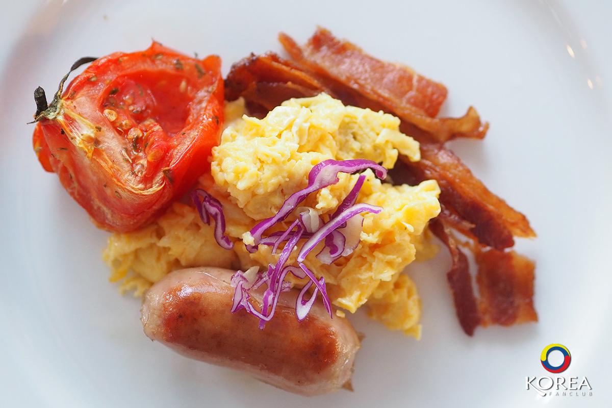 อาหารเช้า สกีรีสอร์ท
