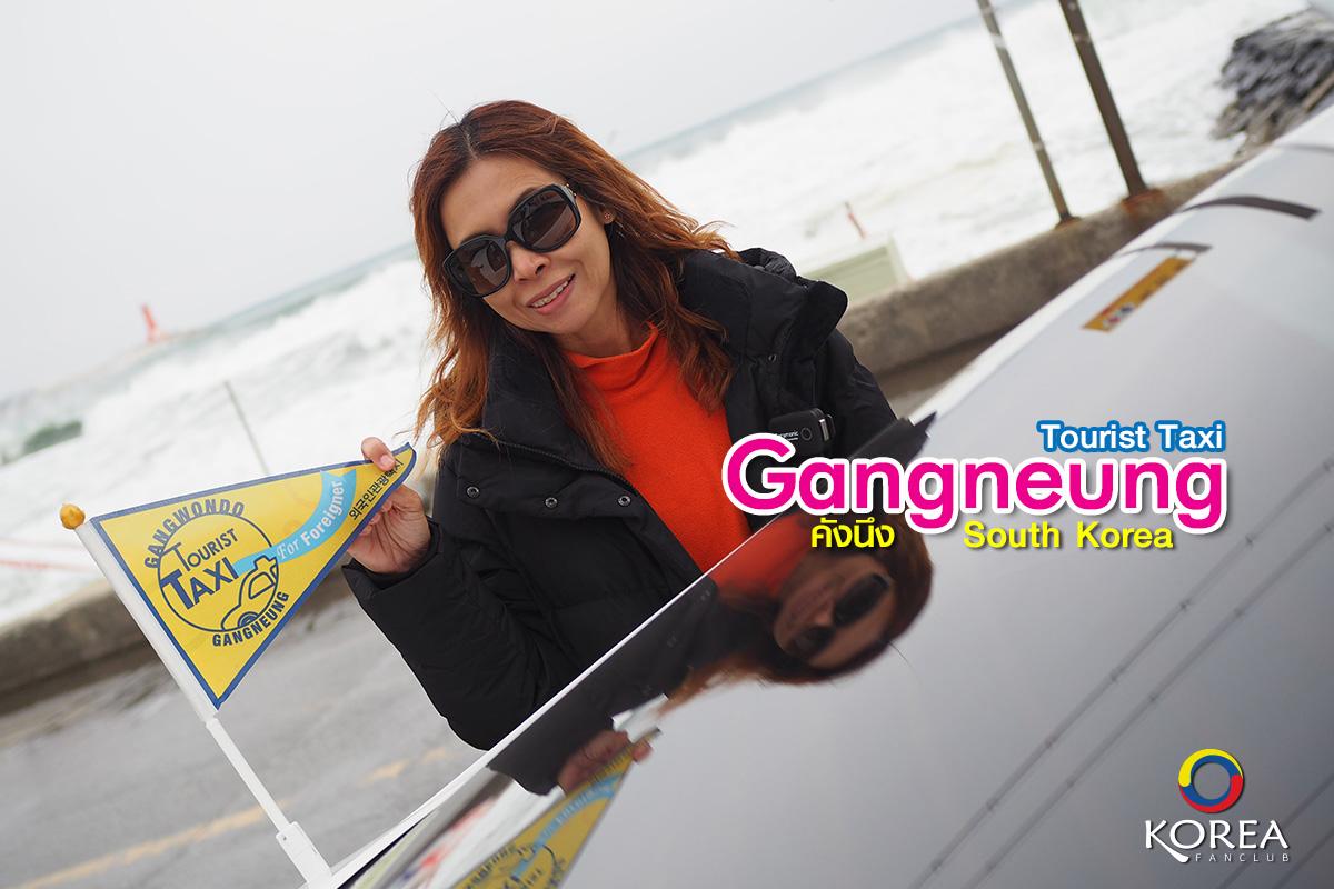 Tourist Taxi Gangneung : แท็กซี่ท่องเที่ยว คังนึง