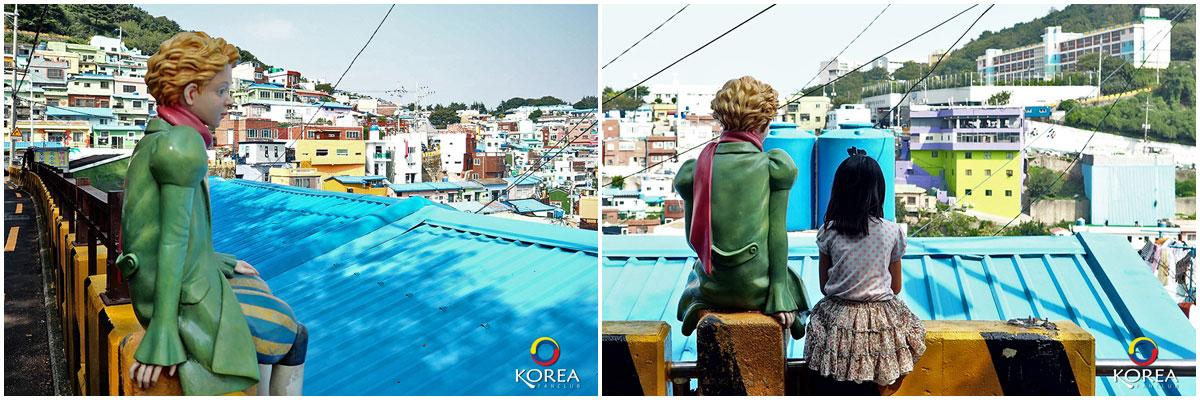 เจ้าชายน้อย Gamcheon Culture Village