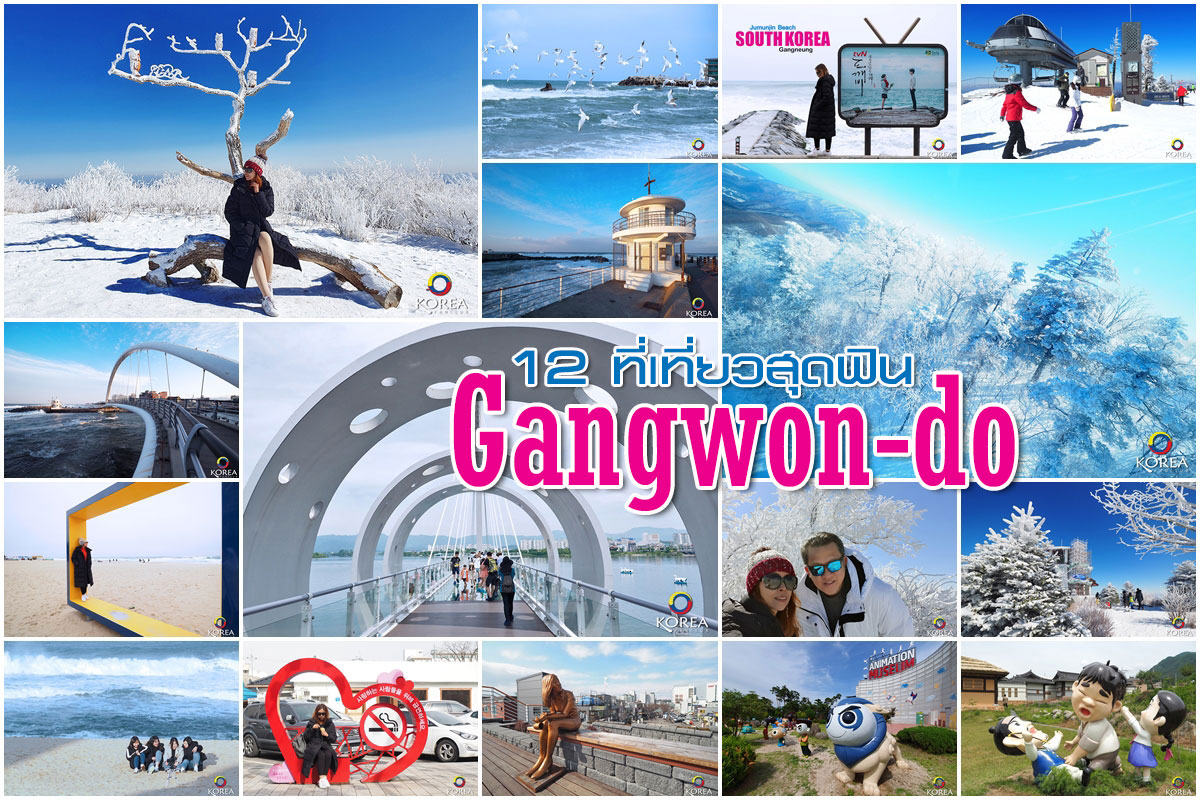 12 ที่เที่ยว จังหวัด คังวอน เหนือสุดเกาหลีใต้