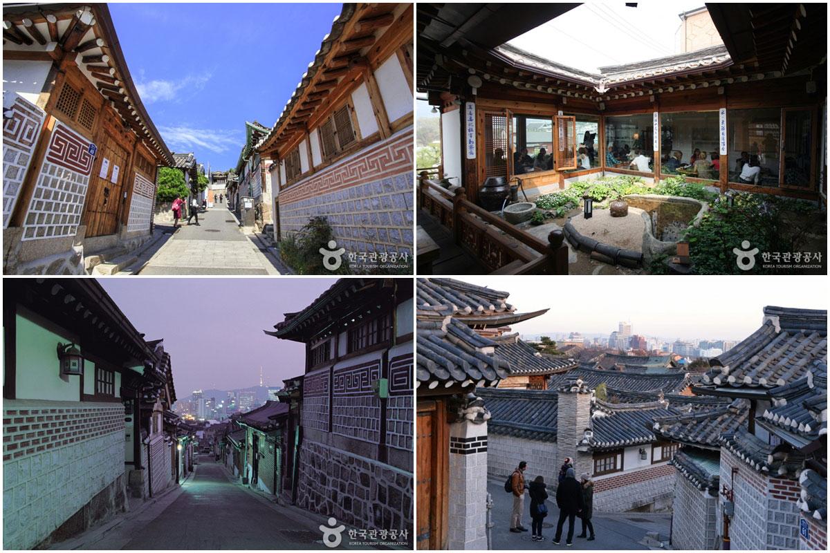 หมู่บ้านบุกชน ฮันอก : Bukchon Hanok Village