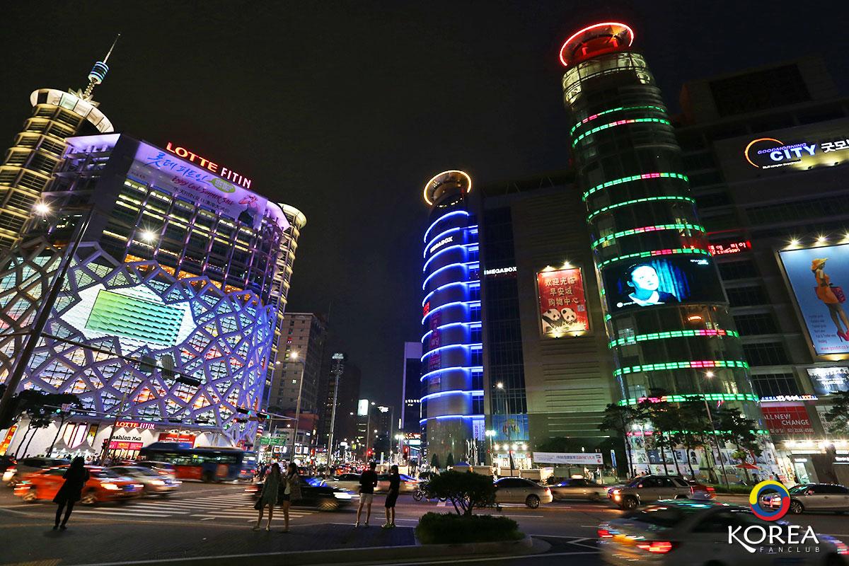 เมืองแฟชั่นทงแดมุน : Dongdaemun Fashion Town