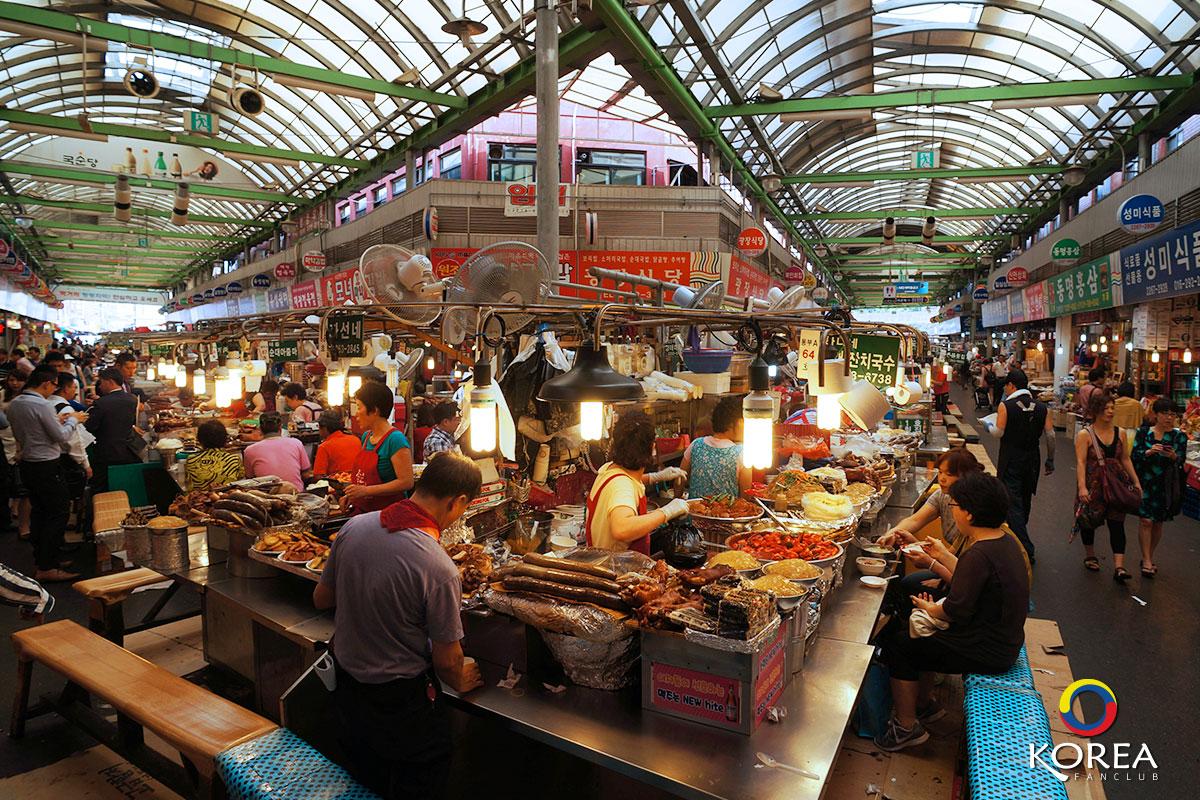 ตลาดควังจาง : Gwangjang Market