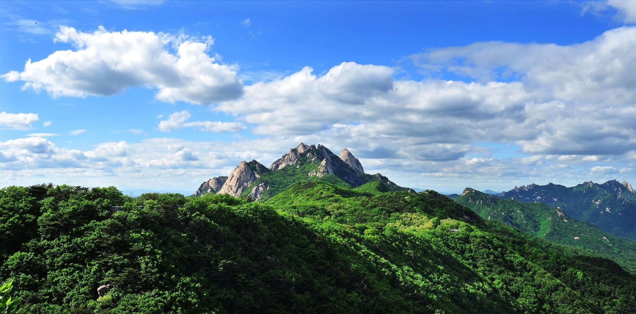 ภูเขาบุกฮันซาน : Bukhansan National Park