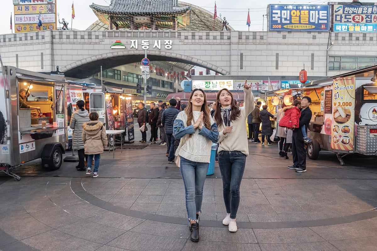 ตลาดนัมมุน ซูวอน : Suwon Nammun Market