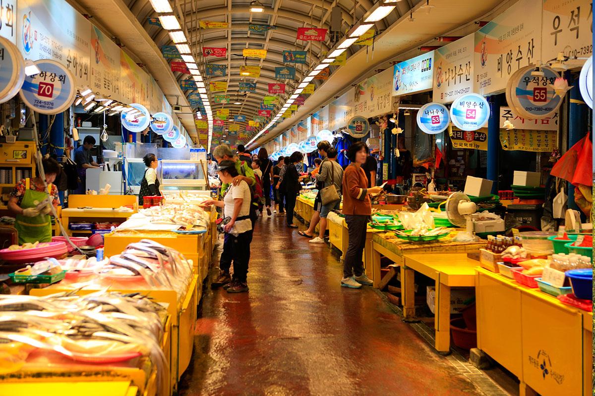 ตลาดทงมุนแห่งเชจู : Jeju Dongmun Market