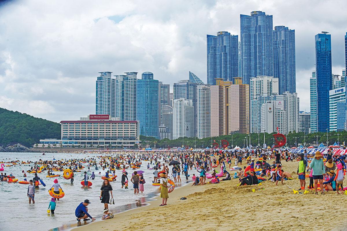 ชายหาดแฮอึนแด : Haeundae Beach