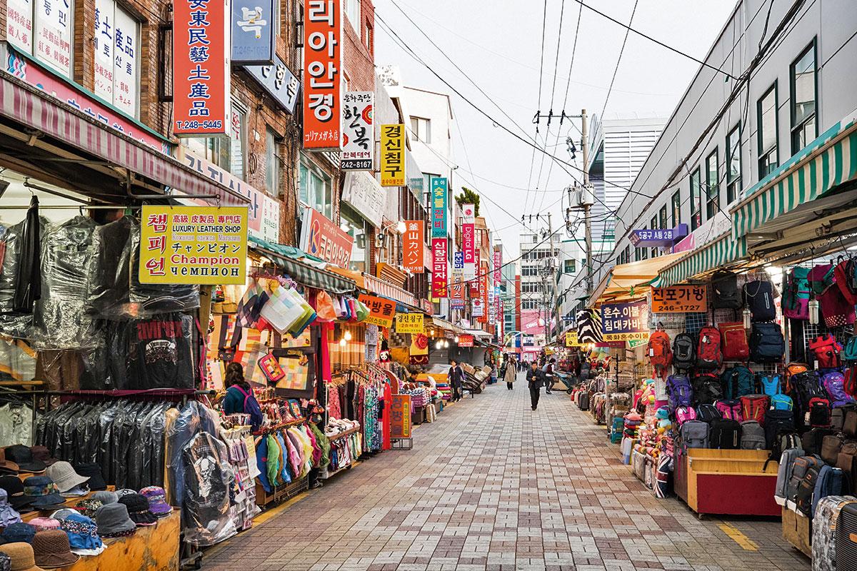 ตลาดกุกเจ ปูซาน : Busan Gukje Market
