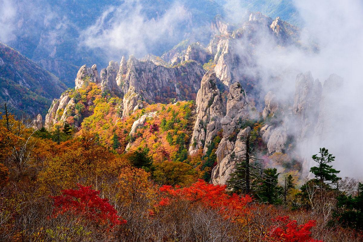 อุทยานแห่งชาติซอรักซาน : Seoraksan National Park