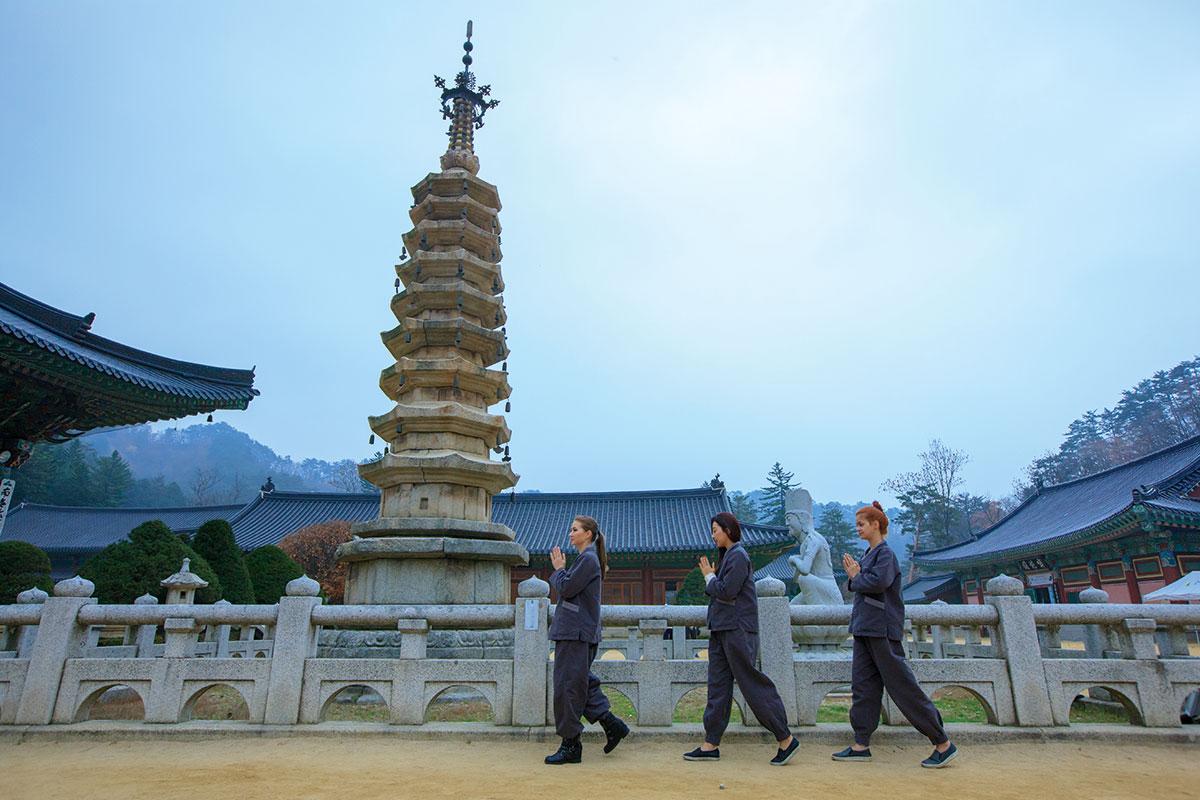 วัดวอลจองซา : Woljeongsa Temple