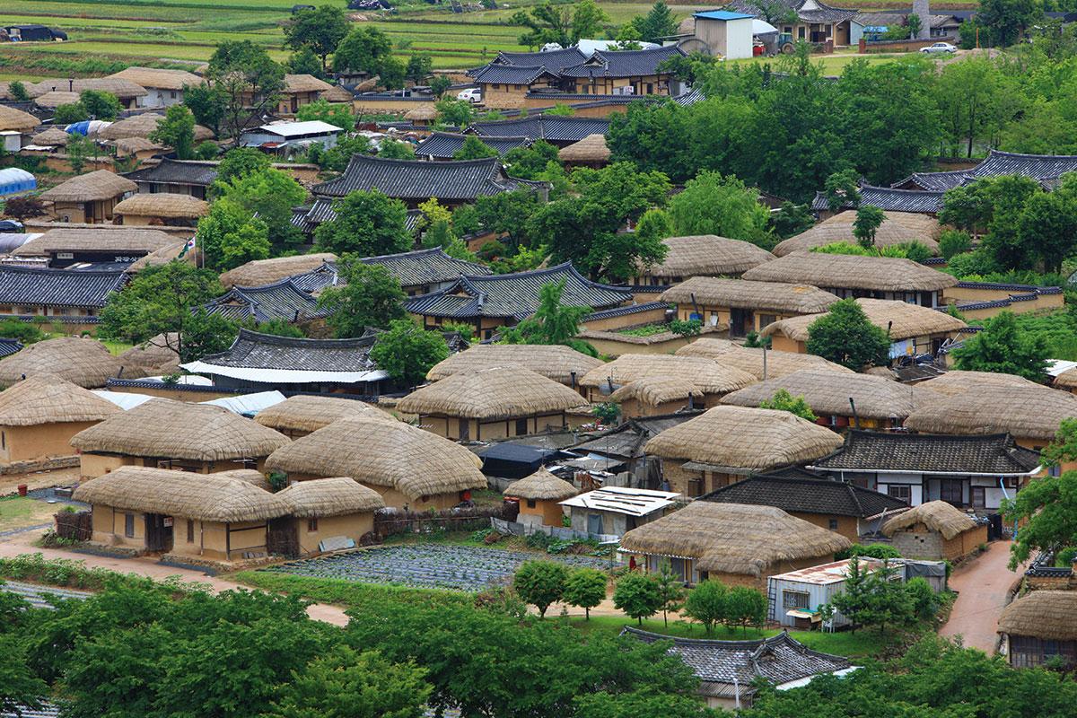 หมู่บ้าน ฮาฮเว อันดง : Andong Hahoe Village - เที่ยวเกาหลี   Koreafanclub