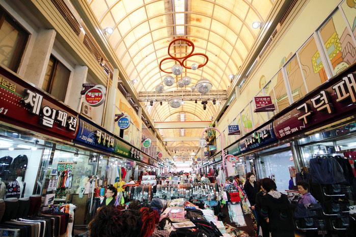 ตลาดจองซอนอารีรัง : Jeongseon Arirang Market