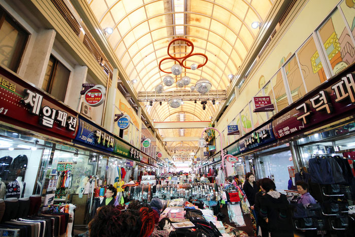 ตลาดวอนจู จุงอัง : Wonju Jungang Market